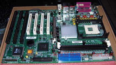 工控主板ISA主板3个ISA槽ISA板845E