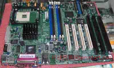 工控主板ISA主板3个ISA槽ISA板875G超微P4SCA