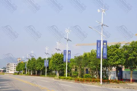 太阳能风能路灯,太阳能风光互补路灯