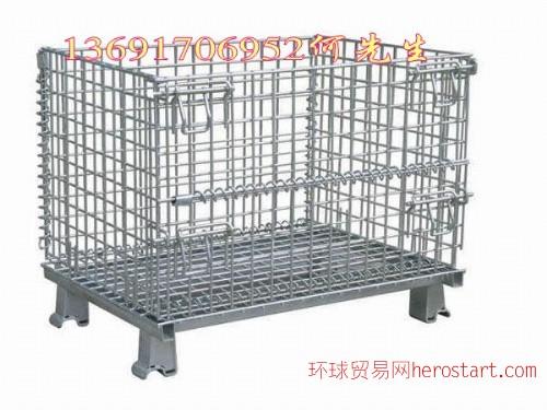 深圳重型仓库笼车,折叠式仓库笼车,移动式仓库笼车