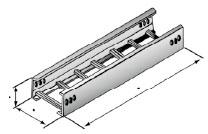 XQJ-LQJ-01AT型铝合金梯级桥架