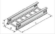 XQJ-LQJ-01CT型铝合金梯级桥架