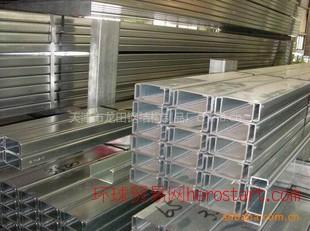 天津泛华镀锌C型钢货架立柱C型钢网络桥架 C型钢物流货架