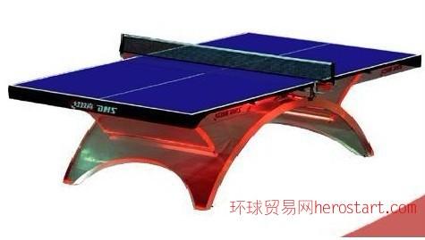 西安单位红双喜水晶彩虹乒乓球台