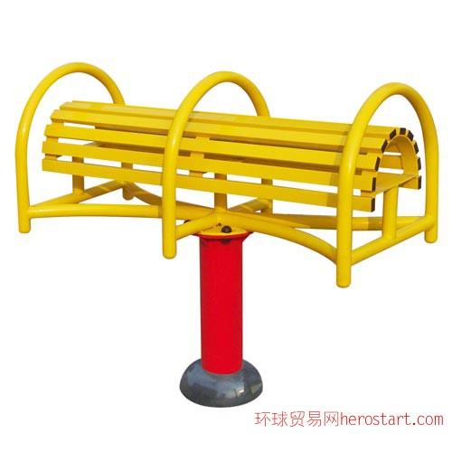 西安社区健身路径-伸腰伸背器