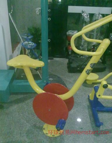 西安单位健身路径-健身车
