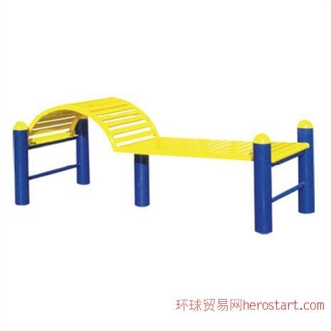 西安室外健身器材-下腰训练器