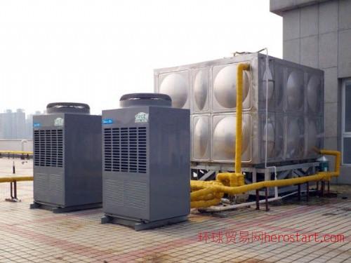 嘉兴平湖桐乡海宁海盐嘉善乍浦美的空气能(源)热水器美的商用热泵热水工程