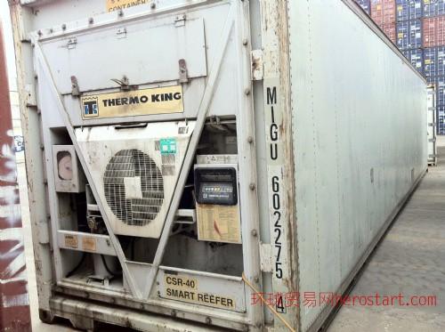 低价出售40尺旧冷藏集装箱