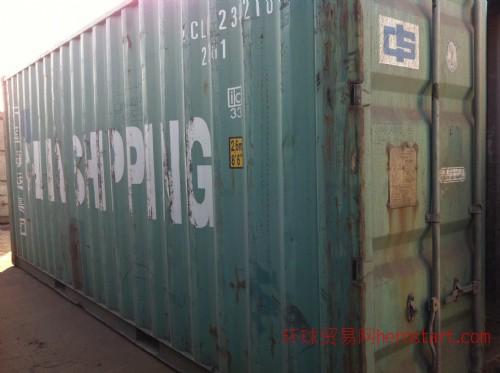 低价出售七八成新旧集装箱