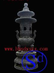 塔炉雕塑 香炉雕塑 香炉铜雕