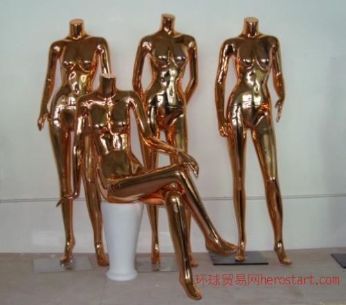 玻璃钢展示模特 玻璃钢亮光模特 玻璃钢内衣模特