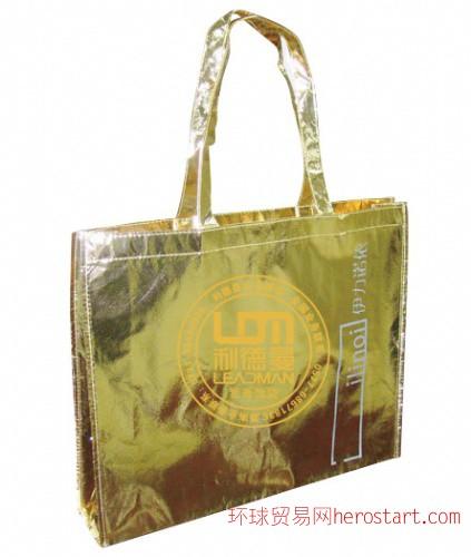 武汉绿色包装袋厂家/湖北无纺布袋大量生产厂家/武汉广告袋厂家