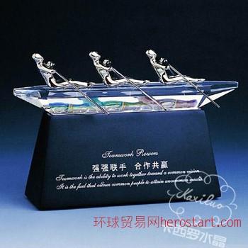 运动颁发水晶奖杯学校发放水晶奖品商业活动水晶礼品制作