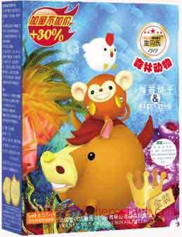 金贝氏森林动物饼干(有8种可选)