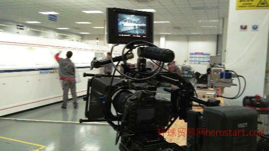 招商宣传片制作 12米遥控大型摇臂助力