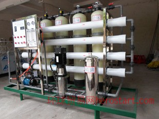 电镀废水处理设备、中水回用、RO反渗透、原水处理
