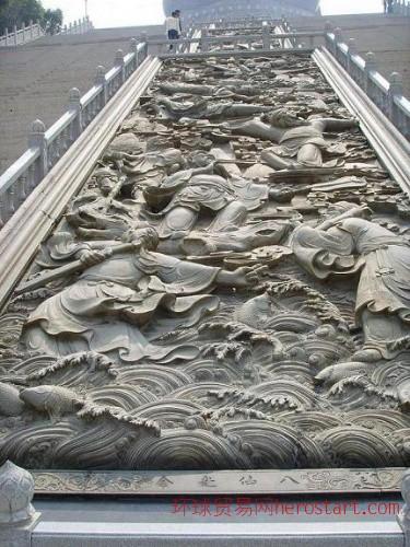 纪念碑,墓群石碑,三维立体字门牌石刻字石,24孝图水浒图