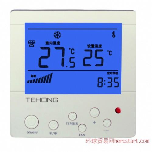 风机盘管温控器,中央空调温控器,湖北温控器,湖北温控开关,武汉温控器,风量调节开关