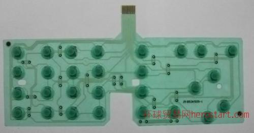 硅胶传真机薄膜线路