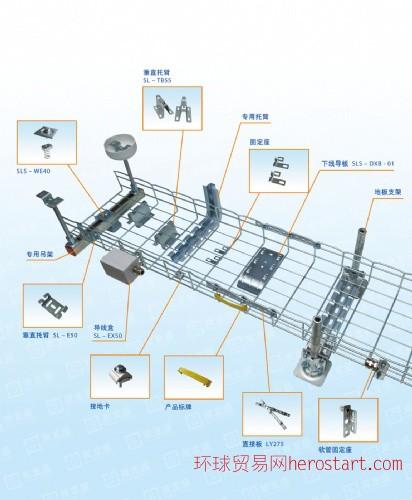 四川网格式电缆桥架,钢网桥架,网状桥架