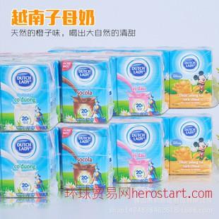 越南子母奶4个口味110ml*48支/箱 热销