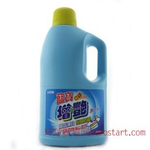 台湾原装进口 狮王蓝宝增艳漂白水2000ml
