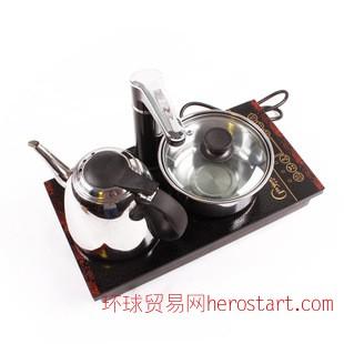 功夫茶具茶道配件 四合一茶盘专用 电磁炉 电热炉 抽水