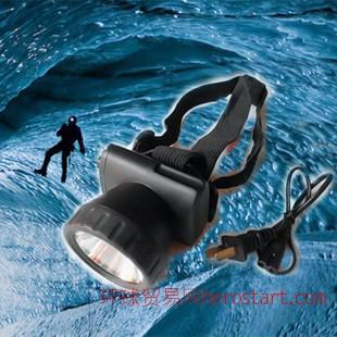 led铅酸头灯 小头灯割胶灯夜用照明充电式头戴灯