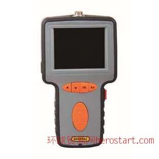 GENERAL DCS1000带记录可视管道内窥镜, 5.5毫米直径镜头