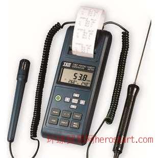 TES-1362 列表式温度表(带温湿度及露点温度测量功能)