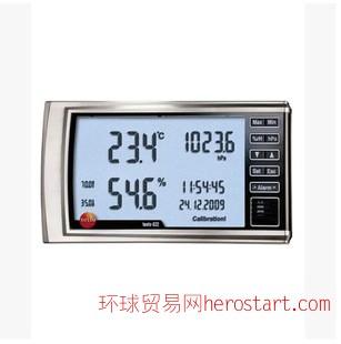 一级代理 德国德图testo622数字式温湿度计大气压力表,原装