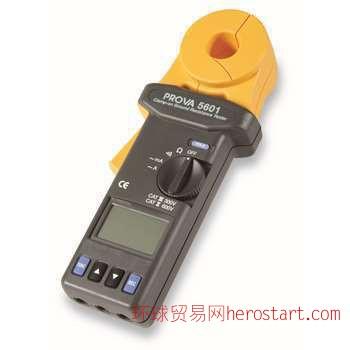 TES 钳式接地电阻仪 数字式电阻测量仪表
