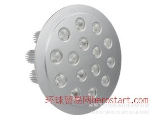 15W 大功率 高亮度珠宝 LED天花灯 外形尺寸:160*75