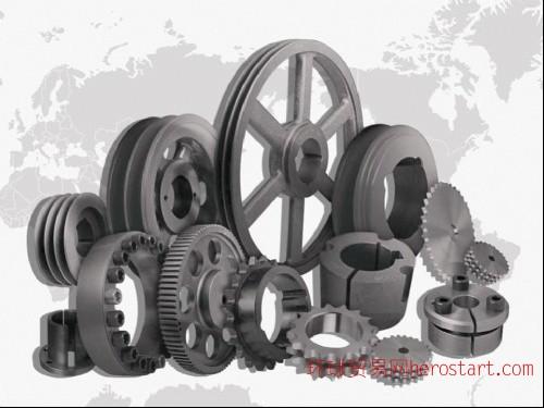皮带轮同步带轮联轴器锥套衬套涨紧套齿轮减速电机等