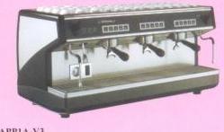 思浓意Appia-V3专业型双三头电子香浓咖啡机.