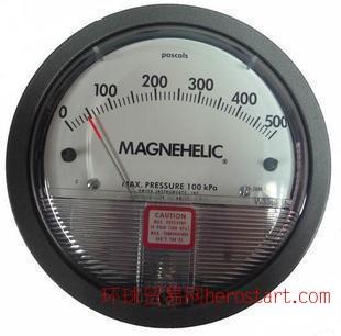 TE2000型铸铝微差压表