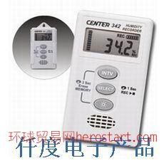 CENTER-342温湿度记录仪台湾群特CENTER342