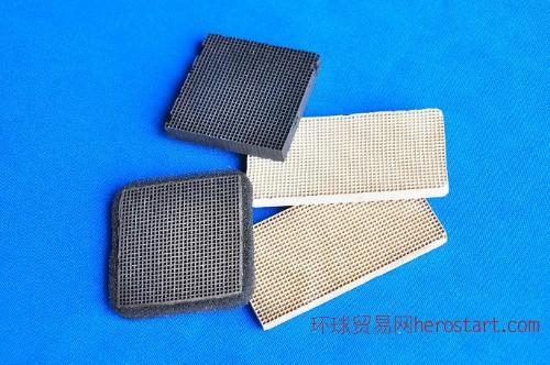 家用空调除甲醛陶瓷蜂窝过滤网