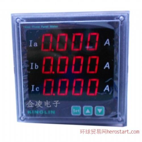 CE1A三相智能数显电流表