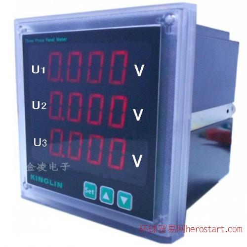 CE1V三相智能数显电压表