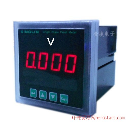 CE1VD单相数显智能电压表
