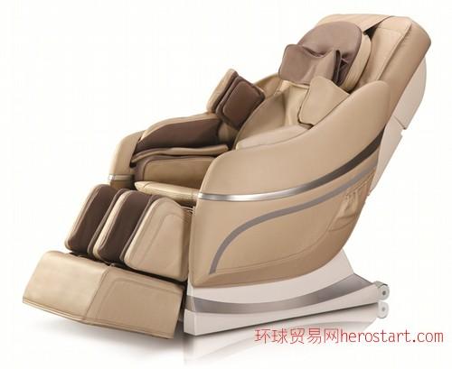 艾力斯特按摩椅A33香槟色