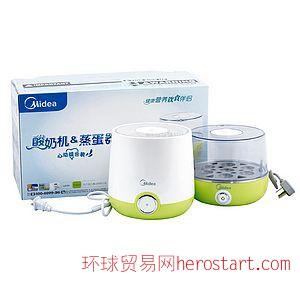 美的酸奶机煮蛋器组合YG10ES-CV、ES07MT-CV