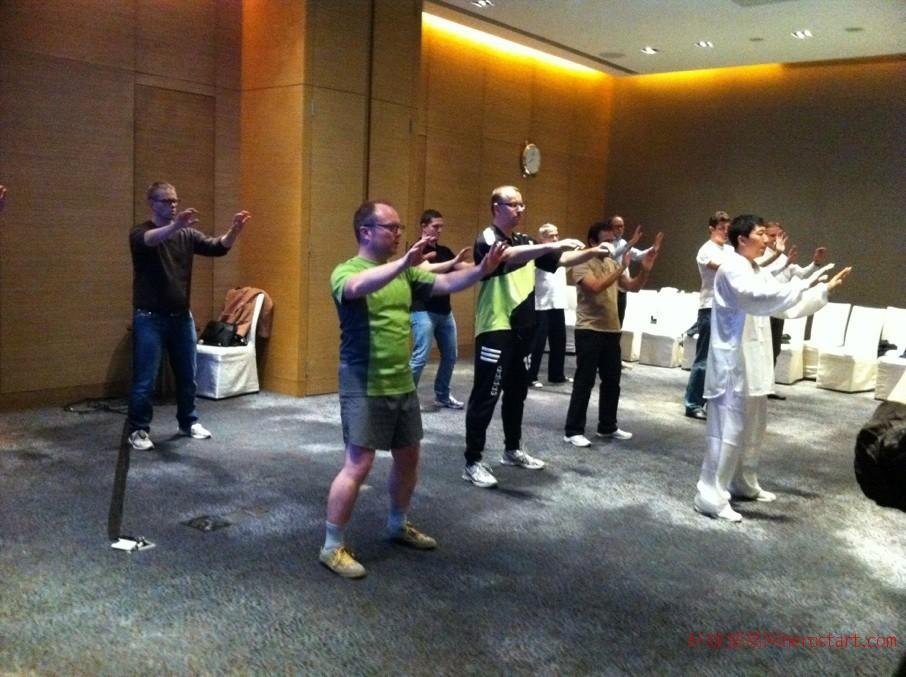 上海太极拳5月11号新班开课