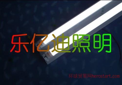 青岛乐亿迪双支架LED格栅灯