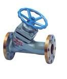 直流式柱塞阀U45SM,铸铁柱塞阀,高压柱塞阀