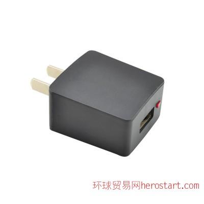 悦颂插卡音箱专用充电头5V 0.5A适配器 USB充电器 500毫安保护IC