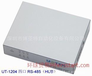 原厂供货4口 RS-485集线器(HUB)UT-1204 价格 技术参数