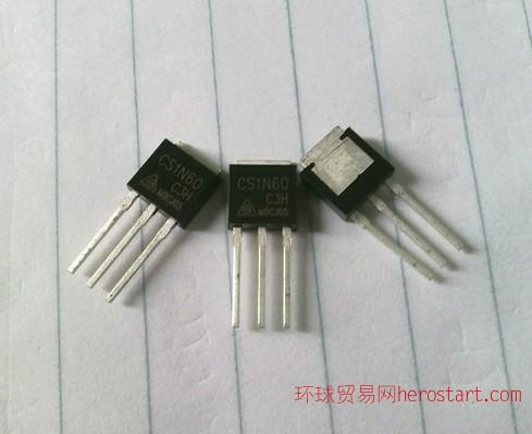 华晶微电子代理商  1N60 价格优势